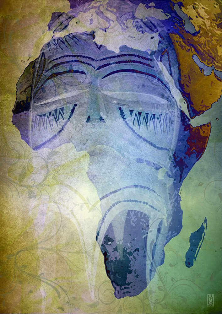 Africa (collage)