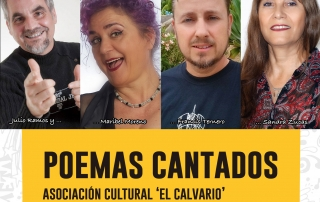 Cartel POEMAS-CANTADOS 17 oct